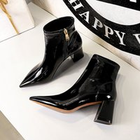 Casual Shoes Woman 2021 Fashion Winter Boots Women Solid Slip on winter Boots Female Ankle Boots Women Ladies Shoes Botas Mujer