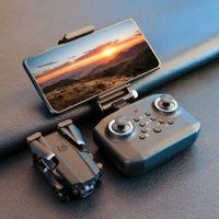 새로운 미니 드론 XT6 4K 1080P HD 카메라 와이파이 FPV 공기 압력 고도 홀드 접이식 쿼드 콥터 RC 드론 아이 장난감 선물