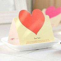 Creative Holiday Tarjetas de felicitación Amor Universal Holiday mensaje Blessing Tarjetas Navidades coloridos moda tarjetas del mensaje VT1614