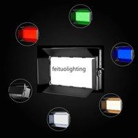 Yüksek Cri 300w Paneli Led Gün Işığı RGBYW Dim Led Yumuşak Paneli Işık İçin Studio Video Film