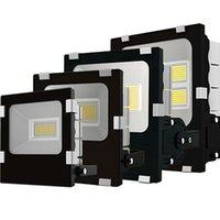 30W-200W Светодиодный прожектор Открытый пейзаж Прожектор, безопасность Свет, 3000K, 6000K Работа для гаража, сад, лужайка, двор и детская площадка
