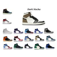 2020 Chaussures de basket-ball Jumpman Dark Mocha Haute Tokyo Bio Hack Smoke Gray High Noir Toe Pine Green Court Purple entraîneur baskets
