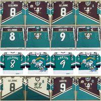 Anaheim Mighty Ducks AUL KARIYA Wild Wing Sandis OZOLINSH Teemu Selanne Teemu Selanne Scott Niedermayer Guy Hebert Hockey Jersey Vintage