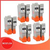 Cartridges Compatibel BCI21 21 BCI24 24 Inkjetcartridge voor Canon-printers PIXMA IP1000 IP1500 IP2000 MP110 MP130-printer
