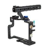 F11100 المهنية GH3 GH4 واقية حالة الإسكان مقبض قبضة الوعرة قفص كومبو كيت DSLR الزي كاميرا رقمية