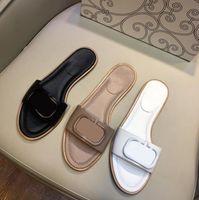 Горячая распродажа - 2021 летние новые плоские туфли нескользящие слов тапочки пляжная обувь