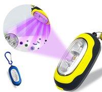 Mini lampada di sterilizzazione UVC sterilizzazione portachiavi lampada UVC germicida lampada utilizzata per la maschera facciale cellulare disinfezione