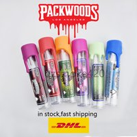 Vuoto Packwoods Pre Roll Joint Joint Blocking Tubo di plastica con adesivi Cappucci resistenti ai bambini 2 grammi pre rotolo Blunt Vvs 2020 Future Hurricane