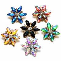Braccialetti di fascino Designer Charms Charms 18mm Snap Jewelry Button Flower Moda Gioielli Ginger Snaps