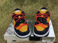 Futura x SB Niedrige Schuhe MCA Unitversity Blau Orange Frauen Herren Designer 1 1S Sneakers Skate Trainer des Chaussures Taquets