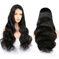 24 Inch Long RemyBrazilian Hair Front Lace Wigs Natural Look...