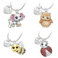 Coriadores DoreenBeads moda série animal colar para mulheres menina acessórios onda festa jóias encantos presente, 1 pc