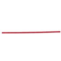 20 piezas Mesa de ping pong borde de la cinta, Raqueta lateral Esponja Protect - Rojo