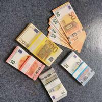 Meilleure qualité PLUS EURO Billet d'argent 10 20 50 100 Euro Billet d'argent Euro 20 Jouer de l'argent