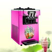 18-22l / h Gefrorener Joghurt-Eismaschine mit LCD-Display kommerziellen Soft-Servier-Eismaschine