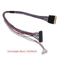 Conectores de cables de computadora I-PEX 20453-040T-11 40pin 2CH 6CH LVDS cable para 10.1-18.4 pulgadas LED LCD panel