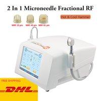 Лучший Мико игла дробно RF машина Microneedling intracel лицо красота лифтинг микроиглы подтяжки кожи омоложение дробно РФ