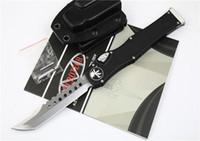 """4 스타일 마이크로텍 풍뎅이는 헤일로 V 후광 VI 나이프 (4.5 """"공단) 담당 에지 단일 작업 트로 오돈 나이프 전술 나이프 서바이벌 기어 칼을 칼"""