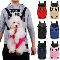 Reisetaschen Pet Outdoor Rucksack Träger für atmungsaktive Produkte Schulter Hundetasche Hunde Katze Chihuahua Haustier Kleines Mesh Double Mnobv