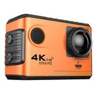 F100B Cámara de acción 4K HD 2.4G WiFi Mini cámara 2.0 Press SN 1080p CAM Video Casco al aire libre Camarara