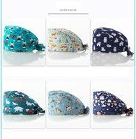 Instituto de laboratório de alta qualidade chapéu cabaça anti-estática ocasional multi-color fosco tampão caracteriza poeira cap chef hat turbante