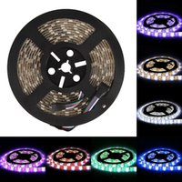 10m Flexibles SMD 5050 RGB + W / WW LED Streifen Licht IP65 40 Tasten Fernbedienung 6A Adapter Set Ultra Hell 16LED / M für Innen- oder Outdoor-Dekoration