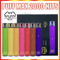Puf Max Tek Kullanımlık Vape Pen E Sigara Cihazı BLM Özel Sınırlı 2000 Puffs 8.5ml Pod Puffbar Buharı VS Hava Bar Kral Lux