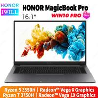 أجهزة الكمبيوتر المحمولة 16.1 بوصة Original Honor MagicBook Pro كمبيوتر محمول كمبيوتر محمول AMD RYZEN R5-3500H / R7-3750H 8GB / 16GB DDR4 512GB PCIE SSD