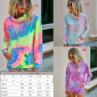 New Fashion new print casual fashion loose tie dye sweatshir...