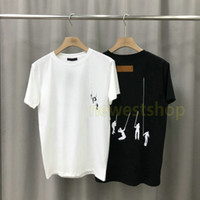 20ss summer luxury designer spring Mens playing swing letter print T shirt Clothing Tshirt fashion color T-shirts Casual Clothing Top tee
