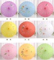 Fleur Craft Performance Performance Dance Props Polyester chinois Parapluie pour femmes de mariage SN1494