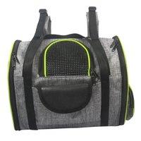 Bolsa de perrito de la portadora de mascotas de moda que lleva bolsas al aire libre perros de hombro gato suave pequeño para perros perreras rbros