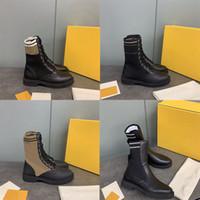 Женщины Байкер Rockoko Boots Combat Boots Черная кожа телячья Stretch Ткань Обувь голеностопный Martin Загрузочная Шнуровка Резиновой Плоский Спорт полоска обувь