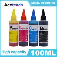 Aecteach stampante Dye Ink Refill Kit 100ML bottiglia per il fratello per Canon Ciss serbatoio e cartucce di inchiostro 4Color della vernice