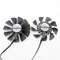 Fanlar Soğutmalar Ventilador De 95mm FD10015H12S 0.55A Para ASUS GTX980 GTX970 GTX780TI GTX780 R9 390X 390 290X 290 / 280X, E