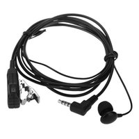 SH-CT01 Walkie Talkie Headset with clip and MIC