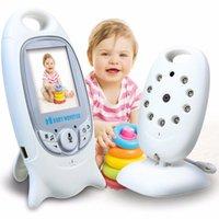 """VB601 Vidéo Moniteur de bébé Video Caméra sans fil 2 Way Talk Back Audio Night Vision 8 Lullaby 2 """"Écran LCD bébé Surveillance des animaux de compagnie Monit"""