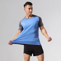 2 шт Набор Запуск Rashguard Tracksuit для мужчин Футбол Обучение наборы Джерси Фитнес-Gym футболки + шорты тренировки бег трусцой Спорт