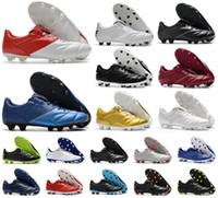 Mens Tiempo Legend Premier II 2.0 FG 7 VII R10 Ronaldinho Elite FG chuteiras botas chuteiras Retro Tamanho futebol 39-45