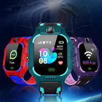 Q19 Kid relógio inteligente LBS Posição Localização SOS câmera do telefone inteligente Bebê Assista Voice Chat Smartwatch Portátil Assista VS Q02 Z6