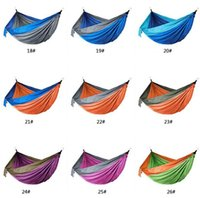 selling!!Outdoor Parachute Cloth Hammock Foldable Field Camp...