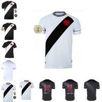 20 21 Club Vasco da Home Away Gama Futebol Jerseys 2020 2021 Maxi Rios Paulinho Fabiano Muriq Custom Custom Black White Football Camisa Tamanho: S-XXL