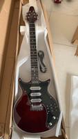 Пользовательские поступления Guild BM01 BM01 BRIAN May Red Guitar Black PickGuard 3 Pickups Tremolo Bridge 22 Frets China Guitars Бесплатная доставка