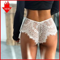 Gym Clothing QIWN Sexy Women's Intimates Hollow Out Briefs Underwear Seamless Lace Yoga Panties Low Rise Solid Female Fashion Panty Tanga