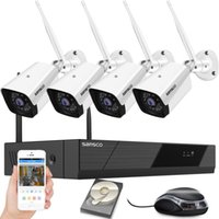 SANSCO 4CH HD Wireless System CCTV H.265 1080P NVR 2MP IR-Cut Outdoor IP Camera Security Video Surveilance Kit Alarme Email