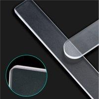 12 cm Profissional Nano De Vidro Arquivo Transparente Lixamento De Polimento De Moagem Manicure Ferramenta