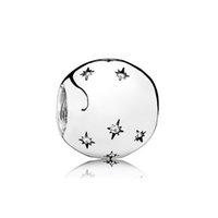 NUOVO 100% 925 Silver 1: 1 Glamour fumetto Fata Jewelry Stella fiocco di neve 60 ° Anniversario in rilievo retro delle donne di Charme regalo