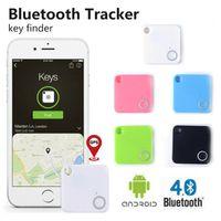 Mini GPS Tracker dispositivo Bluetooth Motor Car Alarm Tile Wallet chiavi di allarme in tempo reale Locator per bambini Gli animali Anti-Perso di Smart Key Finder