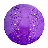 Esportes Massagem Magnética Placa Yoga Esporte Fitness Balanço Placa Wobble Cintura Torcendo Fitness Fitnesss Corpo Exercício Girando Torção de Rotação