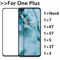 Для One Plus Nord 7 1+ 6 ет 5 5T 3 3T 5D Full Cover Полного GlueTempered Glass Phone Screen Protector